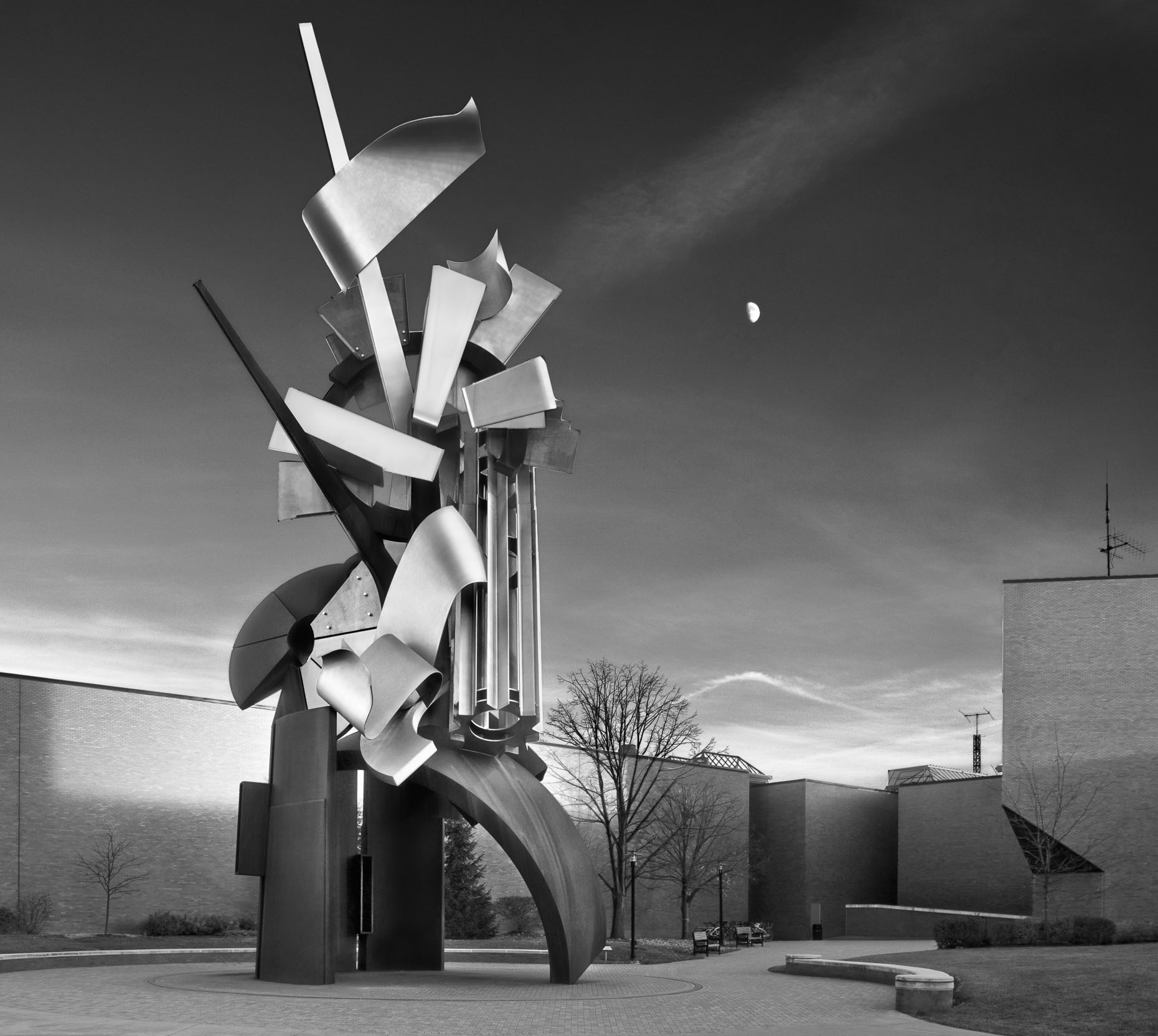 The Sentinel. Designed by Albert Paley